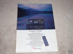 Nakamichi CR-7A Cassette Deck Ad, 1985, Amazing Deck!