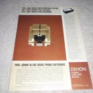 Denon DL-300 Turntable Cartridge Ad from 1980