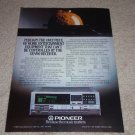 Pioneer SX-V90 Receiver Ad, 1984,Article,Specs