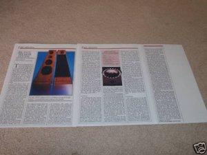 JBL 250Ti Speaker Review,1985,3 pgs,full test,specs