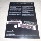 Sonic Frontiers Ad,TUBE Line 3 Preamp,1 page,RARE! 1997