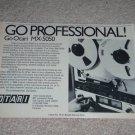 """OTARI MX-5050 Open Reel Ad, Article,RARE AD!1975, 6""""x9"""""""