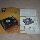 Garrard 16 pg Book,1966,Mint! Lab 80 mk II,70,60,50,40