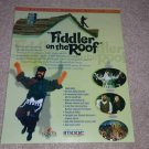 Fiddler on the Roof laserdisc Ad, 1997, Rare Ad,Article