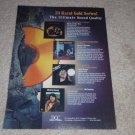 DCC Cd Ad, 1993, McCartney BOTR,CCR,Bob Seger Ad,1 pg