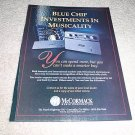 McCormack Power Drive DNA 1,ALD 1 Power Amp Ad fr 1994