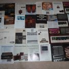 Marantz Ad Archive on CD,27 Ads,Reviews,Brochures,NICE!