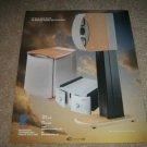 "Revel Sound SUB,AMP Speakers Ad from 1997 11""x13"""