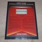 Harman Kardon Ad, 1983 hk870 Amplifier,hk825 Pre,Articl