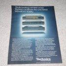 Technics Pro Series Ad, 1978,specs,ST-9030,SU-9070,9060