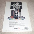 MB Quart Speaker AD from 1991,RARE! German Made!