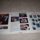 B&W 6 page AD fr 1986, 808,801,dm70,matrix,dm6,RARE!