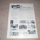 Altec 360 Amplifier,classic ad! Rare! from 1964, articl