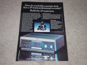 Revox B710 Cassette Ad, 1981, Color, Article, Beautiful