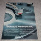 Sony XL-55 Moving Coil Cartridge Ad, 1972,color,Nice!