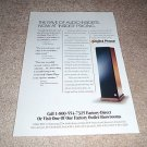 Digital Phase AP 1 Speaker Ad from 1995