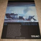 Teac Open-Reel Deck,System Ad from 1982