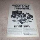 Dynaco Stereo 150 Kit AD, inside view  from 1976, RARE!