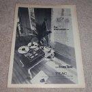 Teac 3340s QUAD Open-Reel Deck Ad 1975 Excellent!