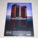 Bose 601 II Speaker Ad, 1977, Rare one!