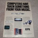 EPI Speakers Ad, 1986, Time/ Energy Line, article