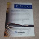 Kimber Kable BiFocal XL speaker wire Ad, 1997, 1 pg