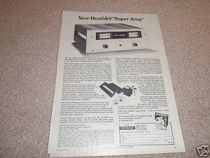 Heathkit Super Amp Ad from 1975,AA-1640,specs,article