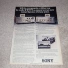Sony V-FET Amps Ad,1975,color,Article,TA-4650,8650