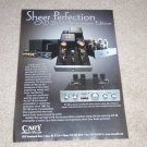 Cary CAD-211M Anniversary Edition Ad, 2005, Tube Amp Ad