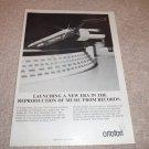 Ortofon Concorde 30 Cartridge Ad from 1980