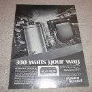 Dynaco Stereo 300,QSA-300 QUAD Amp Ad from 1976,amazing