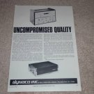 Dynaco Stereo 120 Amplifier Ad,1966, Article,PAS-3x,fm3