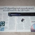 Mitsubishi DP-311r CD Ad, 1987, 2 pages, Article