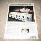 Yamaha Vintage Ad 1980 receiver CR-840