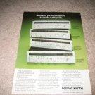 Haman Kardon Vintage Ad 1980 receiver hk680, hk570i