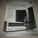 Kenwood KR-6400 Receiver Ad from 1968
