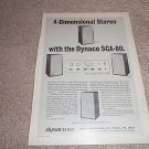 Dynaco SCA-80 QUAD Preamp Ad from 1971