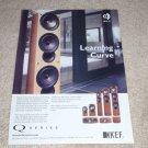 KEF Q Series Ad, 2005, Uni-Q,Article, 1 page