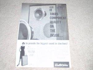 Electro-Voice Regina 200 Speaker Ad,1962, Article,specs