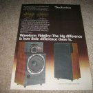 Technics SB-L300 Speakers Ad from 1979,RARE,Color