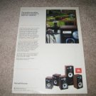 JBL Vintage Ad 1982,color,entire lineup!