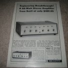 Scott 233 Integrated Amp Ad from 1964