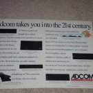 Adcom Ad,GFA-5800,GTP-600,GSP-560,2 pgs,1993, Article