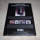 Thiel CS6 Speaker Ad from 1998, details inside