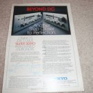 Onkyo A-7090,70,40 Amplifier Ad, Specs, Article, 1976