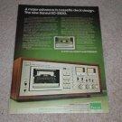 Sansui SC-5100 Cassette Ad, 1977,Article,Specs,Color