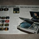 Pioneer Laserdisc,Big Screen Projector Ad from 1981