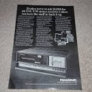 Panasonic SA-4000 Receiver Ad, 1969, Article, Rare Ad!