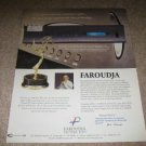 Faoudja VP301 Scaler Ad from 1999 EMMY in Ad!