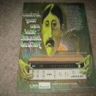 Sansui QUAD Receiver QRX-3500, 6500, 3000 Ad from 1974